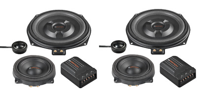 Match 3 Way Component Speaker Upgrade To Fit BMW 1 Series F20 F21 • 374.98£