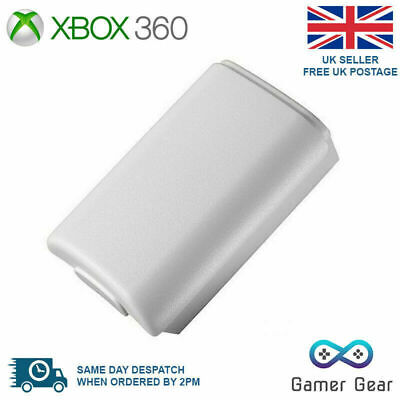 £2.29 • Buy Xbox 360 Controller Battery Cover Case Shell Pack - White