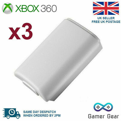 £3.49 • Buy  Xbox 360 Controller Battery Cover Case Shell - White 3 Pack