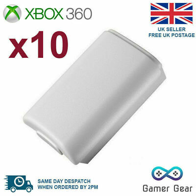 £6.55 • Buy Xbox 360 Controller Battery Cover Back Shell - 10 Pack White