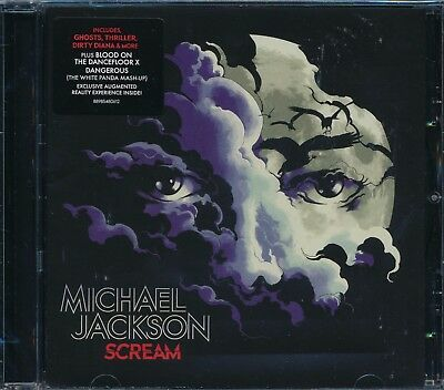 Michael Jackson Scream CD NEW This Place Hotel Unbreakable Threatened • 10.70£