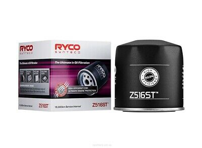 AU27.95 • Buy Ryco Syntec Oil Filter Z516ST Fits Ford Falcon 4.0 (BA), 4.0 EcoLPi (FG), 4.0...