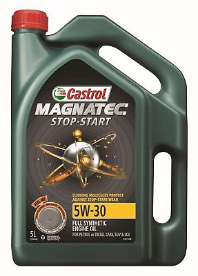 AU50.95 • Buy Castrol MAGNATEC 5W-30 Stop Start Full Synthetic Engine Oil 5L 3396960 Fits A...