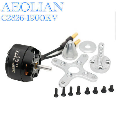 RC Aircraft Airplane Aeolian C2826 1900KV Outrunner Brushless Electric Motor • 13.52£