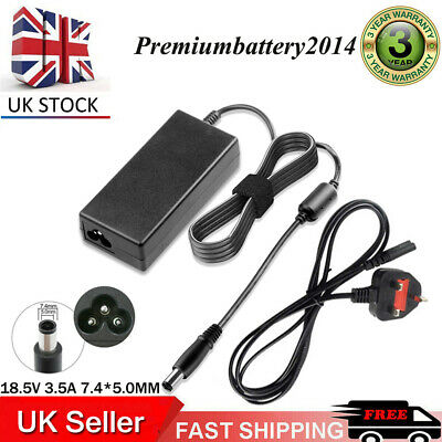 £10.99 • Buy For HP Compaq Presario CQ58 CQ59 CQ61 Laptop Power Supply Adapter Charger 65W