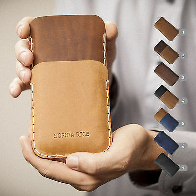 $ CDN79.09 • Buy Sony Xperia Leather Cover Case Personalized Sleeve Credit Card Pocket Wallet
