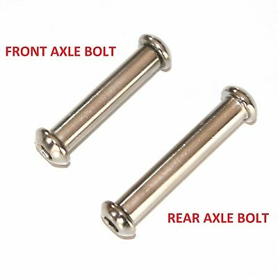 PUSH STUNT SCOOTER SMOOTH AXLE BOLT AND NUT Fits MGP MADD MICRO MX • 2.95£