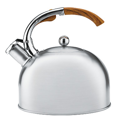 AU49.95 • Buy RACO Elements 2.5L Stovetop Kettle Stove Top Kettles Induction Silver
