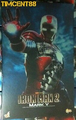 AU629.46 • Buy Hot Toys MMS145 Iron Man 2 - Ironman Mark 5 V 1/6  Figure Batteries Removed New