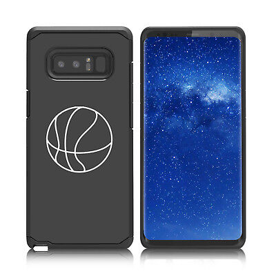 $ CDN19.76 • Buy For Samsung Galaxy Note 8 9 Shockproof Hard Soft Bumper Case Cover Basketball