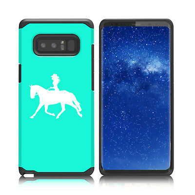 $ CDN19.76 • Buy For Samsung Galaxy Note 8 9 Shockproof Hard Soft Case Cover Cowgirl Riding Horse