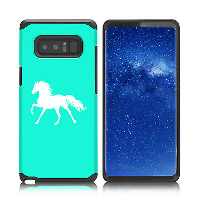 $ CDN19.76 • Buy For Samsung Galaxy Note 8 9 Shockproof Hard Soft Bumper Case Cover Horse