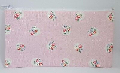 £5.95 • Buy Cath Kidston Floral Spot Fabric Handmade Make Up Bag Pencil Case Storage Pouch