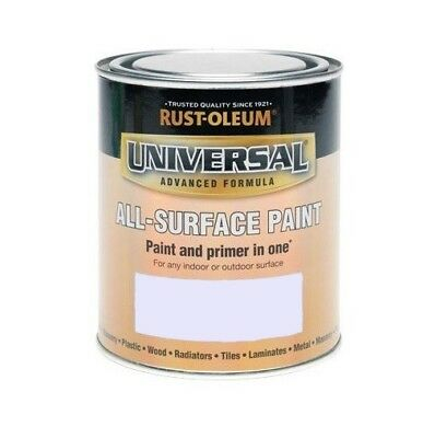 Rust-Oleum Universal All Surface Brush Paint -  750ml / 250ml - All Colours • 19.99£