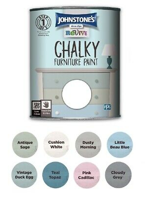 £14.18 • Buy Johnstones Revive Chalky Furniture Paint  750ml Chic Shabby Vintage Paints