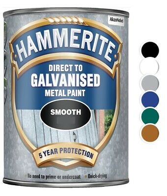 £21.80 • Buy Hammerite - Direct To Galvanised Metal Paint - 750ML- All Colours