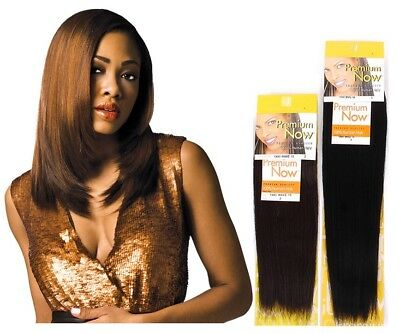 Premium Now New Yaki Platinum 100% Human Hair Weave By Sensationnel • 13.99£