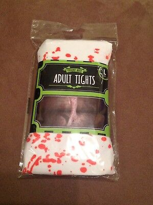 Halloween Fake Blood, Tights And Head Bandage • 2.50£