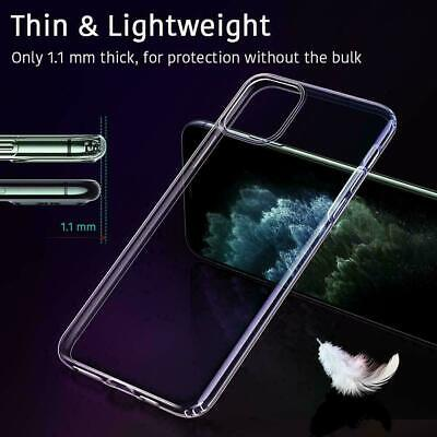 AU7.99 • Buy Fit IPhone 12 Pro Max Case Clear 11 X Xr Xs 6 6s 7 8 Plus Cover Soft Thin Slim