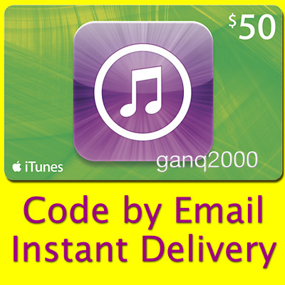 AU83.25 • Buy $50 APPLE US ITunes GIFT CARD Voucher USD Email Code (USA App Store Key Karte)