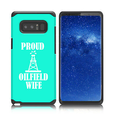 $ CDN19.76 • Buy For Samsung Galaxy Note 8 9 Shockproof Hard Soft Case Cover Proud Oilfield Wife