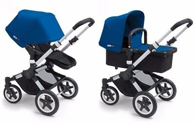 $595 • Buy Black Bugaboo Buffalo With Stroller And Bassinet