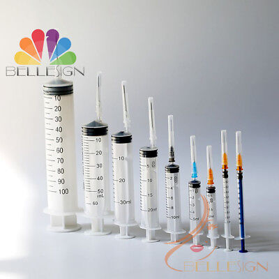 $ CDN15.31 • Buy Syringes Medical Sterile Hypodermic Quality Injections 1ml 3ml 5-10ml ALL SIZES