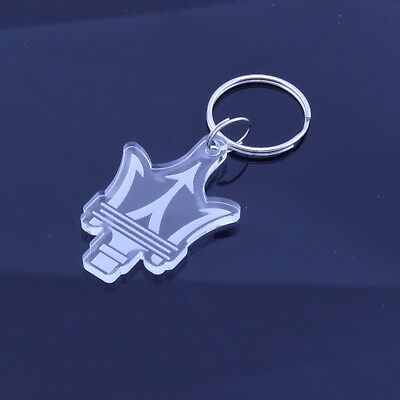 Portachiavi MASERATI auto moto keyring MADE IN ITALY idea regalo OR