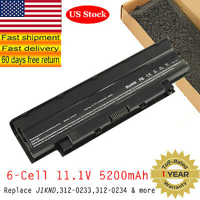 $13.95 • Buy Battery J1KND For DELL Inspiron 3520 3420 M5030 N5110 N5050 N4010 Laptop