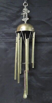 £30 • Buy Vintage Brass Rob Roy  Wall Mounted Gong/wind Chimes