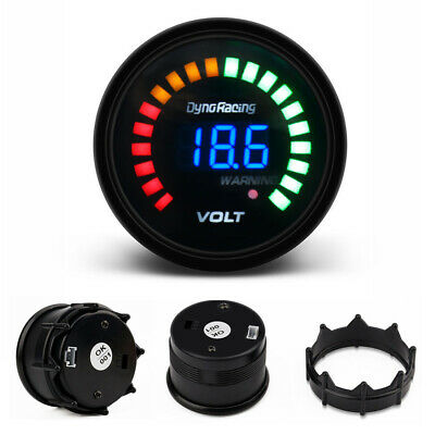 $ CDN19.56 • Buy 2'' 52mm Digital Analog LED Electronic Auto Car Voltage Gauge Volt Meter Smoked
