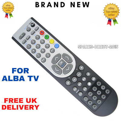 £5.25 • Buy Remote Control For Alba TV`S LED16911DVD, LED16911DVDP And LED22916DVDFHD