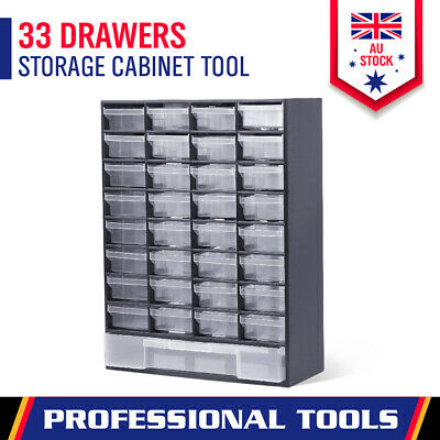 AU29.44 • Buy 33 Drawers Tool Storage Cabinet Parts Box Bin Chest Case Organizer With Dividers
