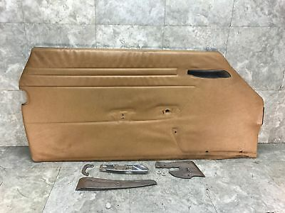 $160 • Buy 72-89 Mercedes-Benz Left Driver Interior Door Trim Panel Card R107 380 450 560SL