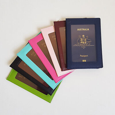 AU4.49 • Buy Passport Cover Holder Wallet Case Organizer Protector Travel Accessories Sleeve