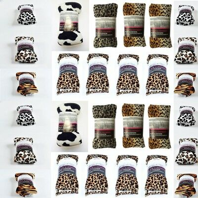 Wheat Heat Pack Animal Print Lavender Microwave Freezable Herbal Bag Pain Relief • 6.25£