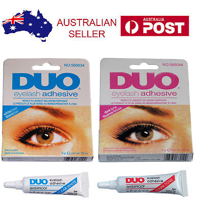 AU5.85 • Buy DUO Waterproof Eyelash Glue False Eyelash Adhesive White Clear / Dark Black