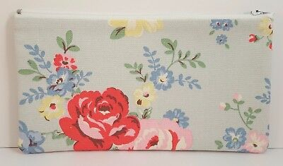 £5.75 • Buy Cath Kidston Park Rose Fabric Handmade Pencil Case Make Up Bag Storage Pouch