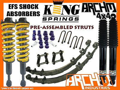 AU1349 • Buy MITSUBISHI ML/MN TRITON EFS SHOCKS KING SPRINGS 2  50mm F&R SUSPENSION LIFT KIT