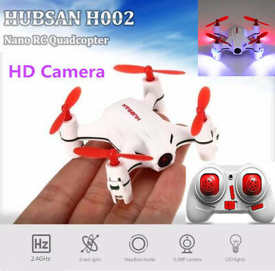 $20 • Buy Hubsan H002 Q4 Mini RC Quadcopter 2.4G 4CH 480P HD Camera LED Toys Drone, In USA