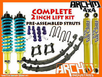 AU1150 • Buy DOBINSONS & ARCHM4X4 2  50mm F&R SUSPENSION LIFT KIT FOR NISSAN D40 NAVARA 2005+