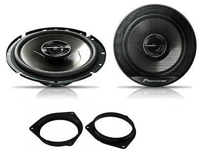 Toyota Avensis 09 Onwards Pioneer 17cm Rear Door Speaker Upgrade Kit 240W • 42.49£