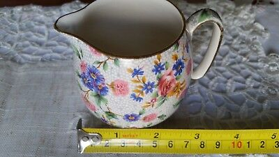 $ CDN18.75 • Buy Royal Winton Old Cottage Chintz Grimwades Creamer Pot Genuine