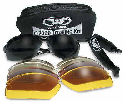 New Interchangeable Glasses/Sport Sunglasses 4 Shooting Cycling Golf Cricket Ski • 19.99£
