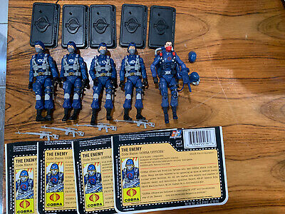 $ CDN80.43 • Buy GI Joe Cobra 25th 30th ROC POC Cobra Officer Army Builder Figure Lot