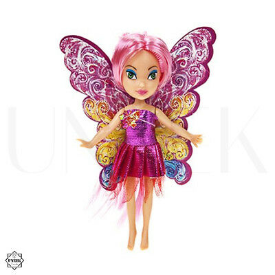 Princess 6  Fairy Doll With Wings & Glitter Dress - Small Toy Doll Xmas Gift • 6.25£