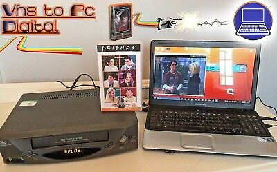 AU196.48 • Buy VHS Video Player / Recorder Kit - Convert Copy VHS Tape To DVD, PC + VCR PLAYER!