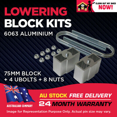 AU119.95 • Buy Lowering Block Kit Mitsubishi Triton 2WD ME MF MG MH MJ MK 3  (75mm)