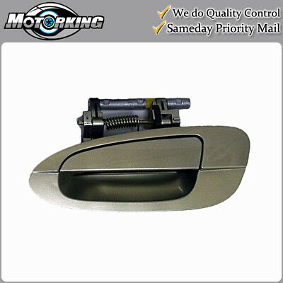 $27.99 • Buy Exterior Door Handle Rear Left For 02-06 Nissan Altima EY1 Champagne Gold B3773