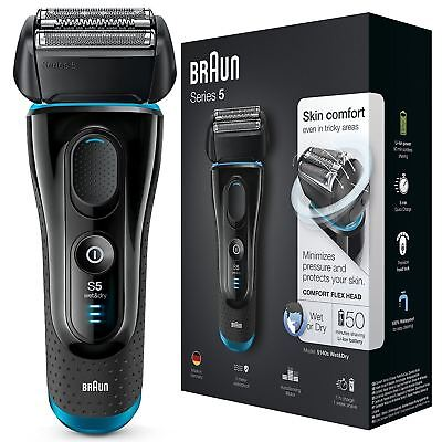 View Details Braun Series 5 5140 Men Electric Foil Shaver Wet/Dry Rechargeable Cordless Razor • 105.31£